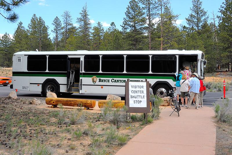DSCN8040 Shuttle Bus, Bryce Canyon National Park