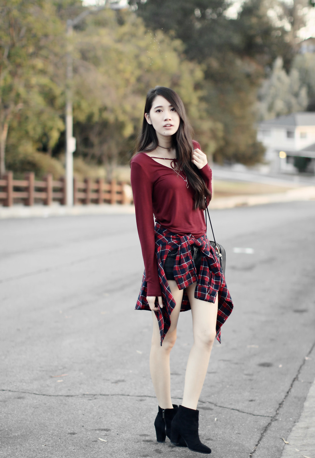 1127-fall-ootd-fashion-style-hollister-red-bowtie-autumn2016