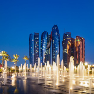 Abu Dhabi Blue Hour - Etihad Towers | by Karsten Gieselmann