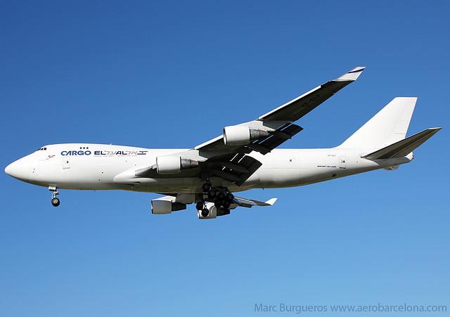 EL AL CARGO BOEING 747 4X-ELF