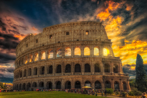 A Gladiators Dream. Colosseum, Rome. | by Darren Flinders
