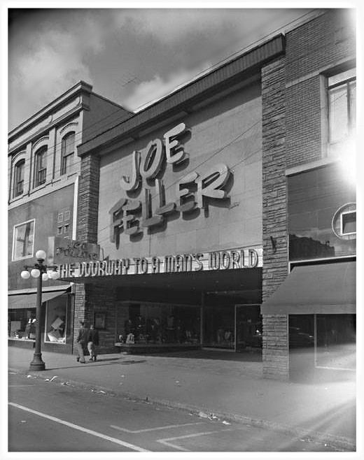 ... Joe Feller at 139 RIdeau St. 1955 - by Ross Dunn - 8 MILlION +
