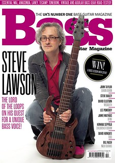 Bass Guitar Magazine, Oct 2015 - featuring me :) | by solobasssteve