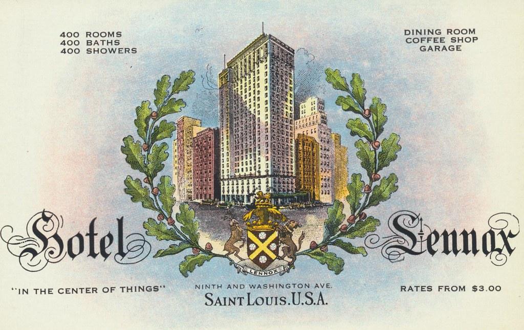 Hotel Lennox - St. Louis, Missouri