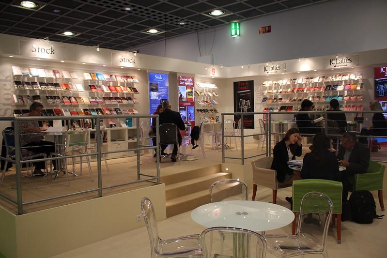 Stock et JC Lattès - Frankfurt Buchmesse 2015