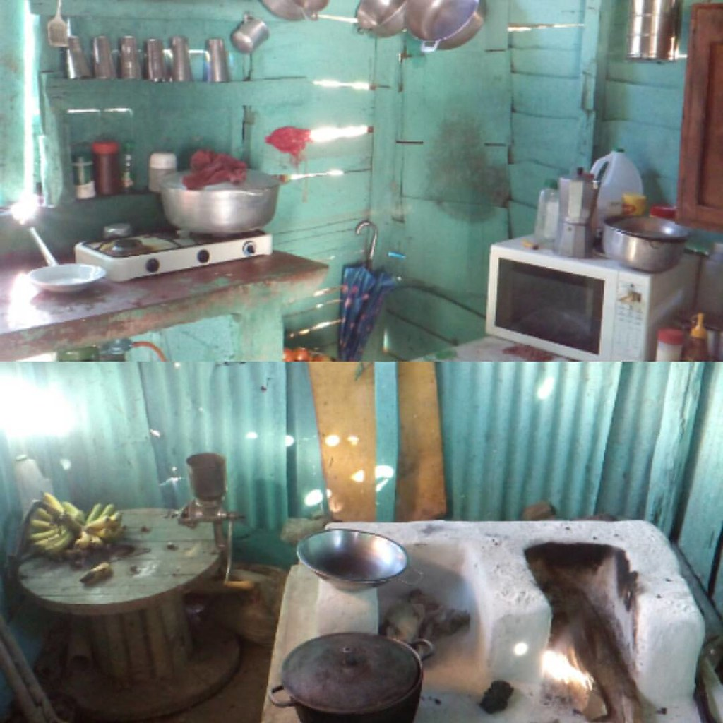 MODERNIZANDO COCINA DE CAMPO #cocina campo #dominicano #ma… | Flickr