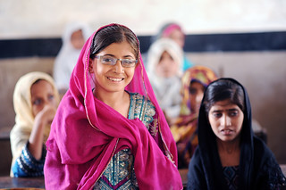 #StrongerTogether Through Our Children's Vision, Brien Holden Vision Institute and partners are providing eye care to children across Pakistan. | by IAPB/VISION 2020
