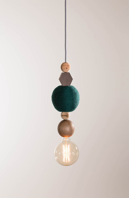 Modular pendant lighting by Jakob Forum Sundeno_11