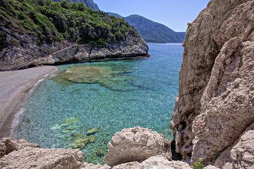 Mikro Seitani beach, Samos island, Greece  © Iztok Alf ...