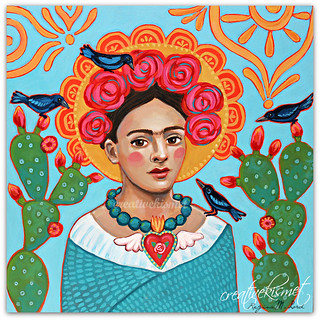Frida with Blackbirds | by Regina Lord (creative kismet)