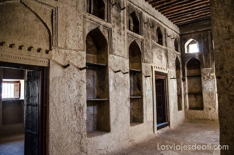 Patrimonio de la Humanidad en Omán fuerte de Bahla