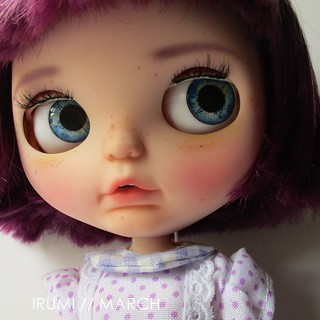 Irumi March custom blythe