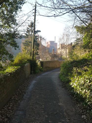 Coming Back into Ironbridge
