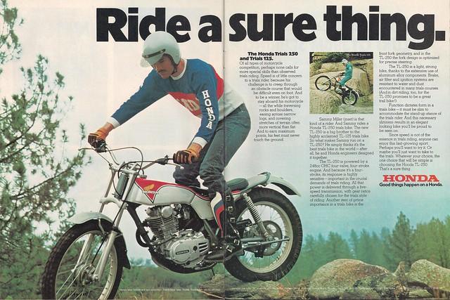 Honda TL250 Sammy Miller