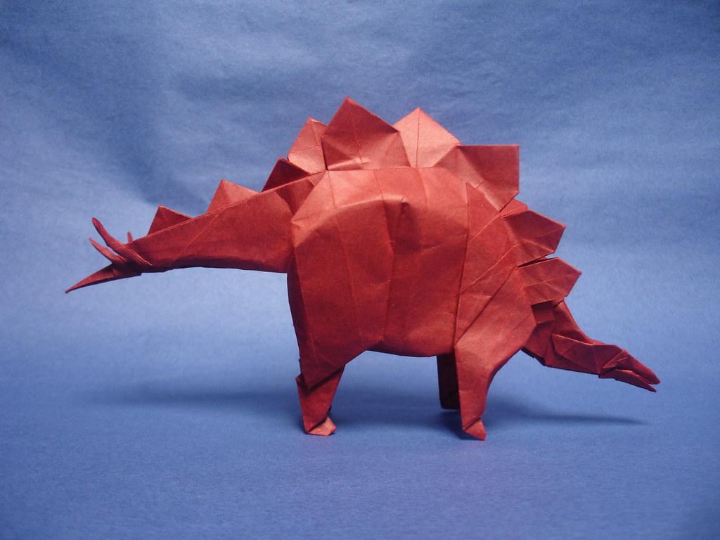 Stegosaurus 2015 kawahata the model is way more complex flickr stegosaurus 2015 kawahata by shukikato jeuxipadfo Image collections