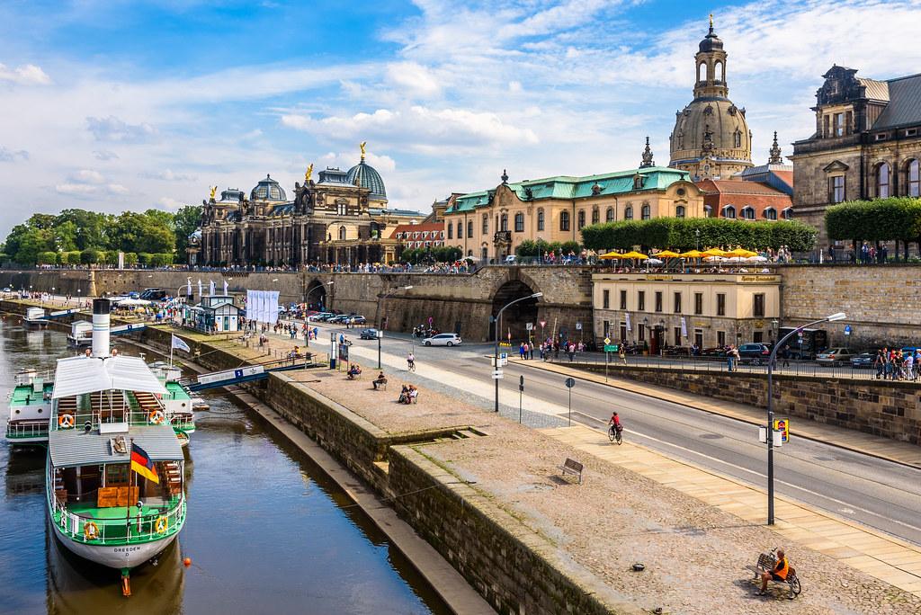 Dresden Bruhlsche Terrasse Dietmar Schwanitz Flickr