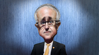 Malcolm Turnbull - Caricature | by DonkeyHotey