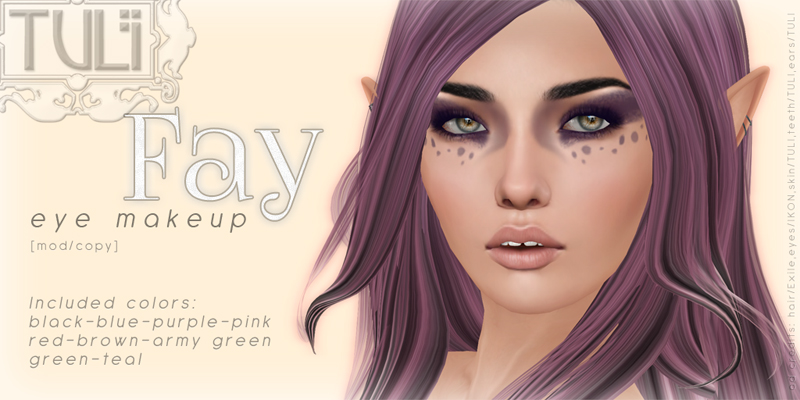 Fay Eye Makeup Tattoo For Weroleplay Tuli Asturias Flickr