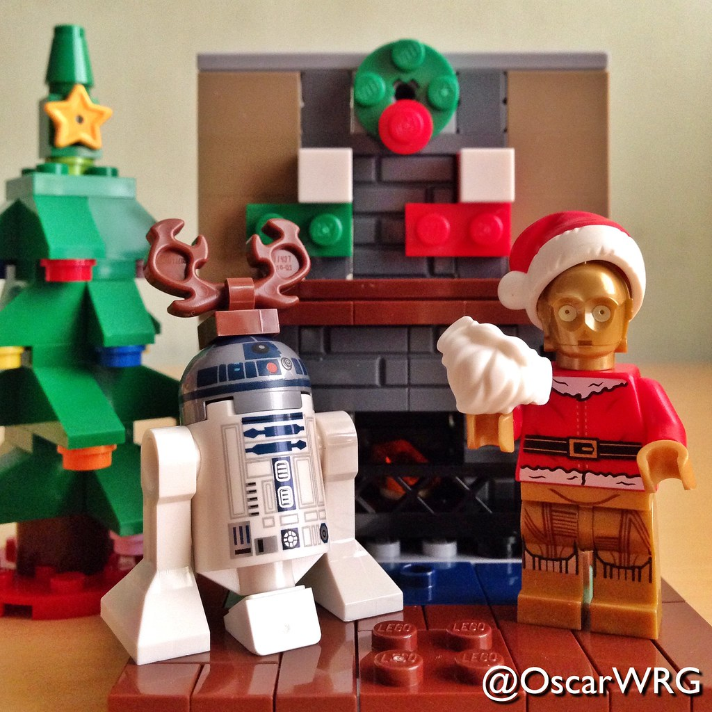 LEGO #StarWars #Lucasfilm #1979 #Christmas #Card by #Ralp… | Flickr