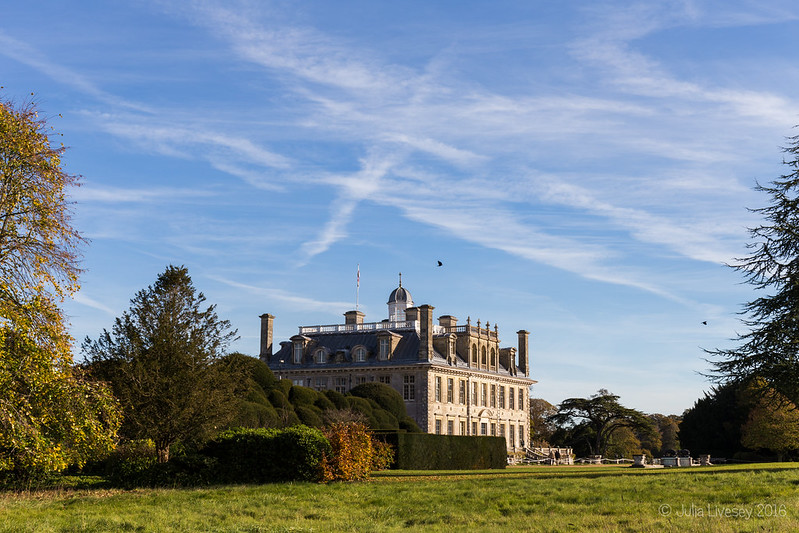 Kingston Lacy house at Autumn