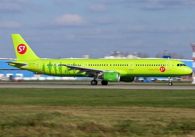VP-BPC S7 - Siberia Airlines  Airbus A321-211