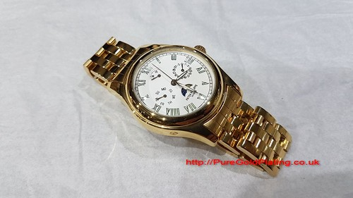 18ct Gold Plated Patek Philippe | by PureGoldPlating