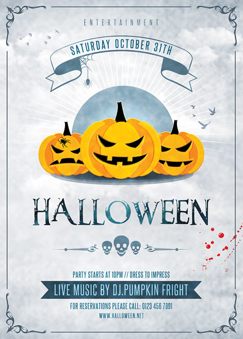 halloween flyer template white and black you can download flickr