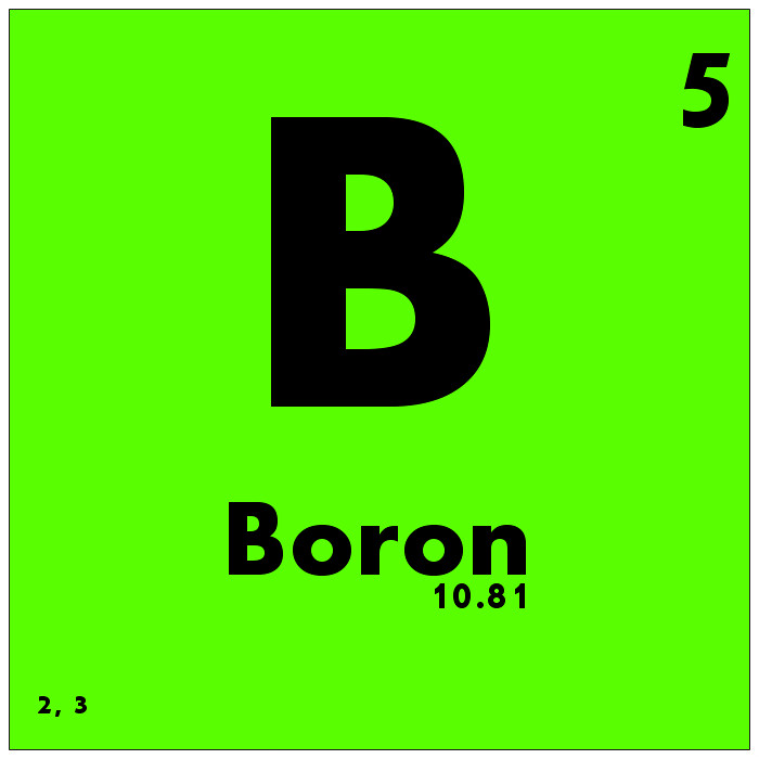 005 Boron Periodic Table Of Elements Watch Study Guide Flickr