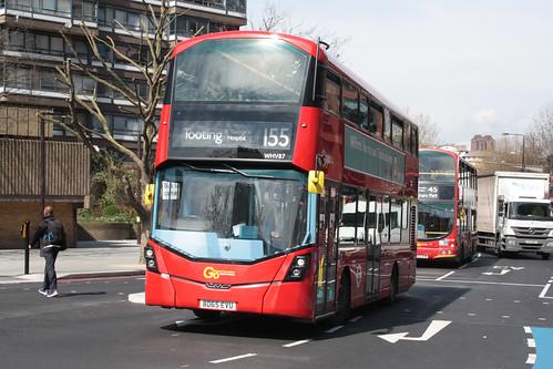London General WHV87 BD65EVU