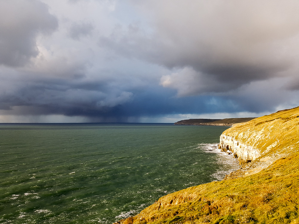 Hiking the Jurassic Coast - Worth Matravers to Swanage - The World in My Pocket 216