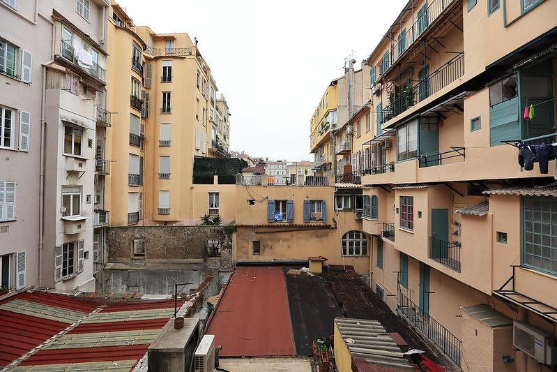 Mercure Nice Marché aux Fleurs hotel window view