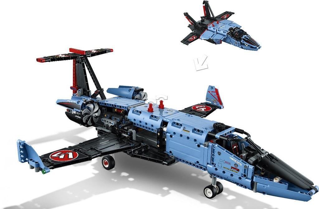 huge lego technic fighter jet and more revealed for 2017. Black Bedroom Furniture Sets. Home Design Ideas