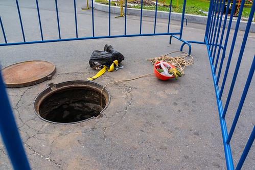 В канализационном коллекторе погибли пять рабочих
