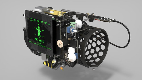 Pip-Boy 3000 Mk4, Render Series 3, Guts 1 | by ZapWizard