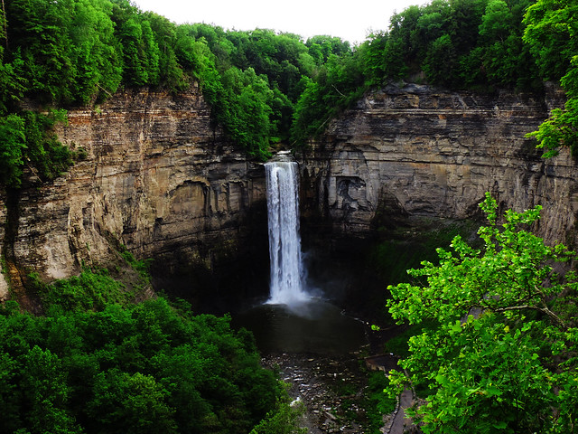 Stunning Waterfalls From The US: Taughannock Falls State Park, New York, USA