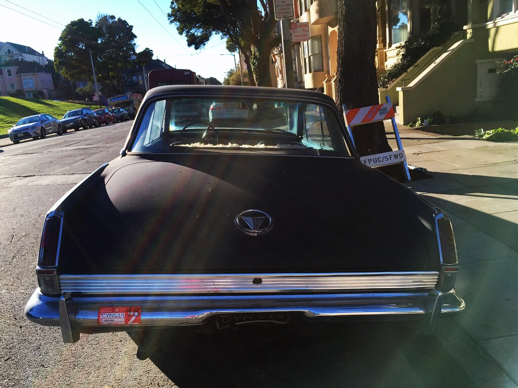 ... Plymouth Valiant on Haight Street, San Francisco | by Lynn Friedman