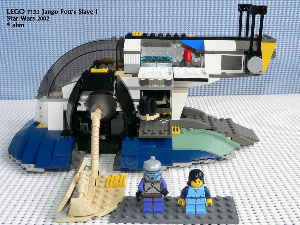 ... Star Wars LEGO 7153 Jango Fett's Slave 1   by KatanaZ