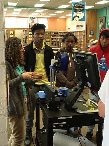 DHH class 3D printing visit | by MCHSLibrary