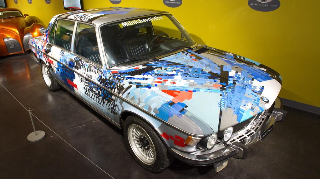 1975 BMW 3.3Li | Dexter Brown Art Car at Lemay - America\'s C… | Flickr