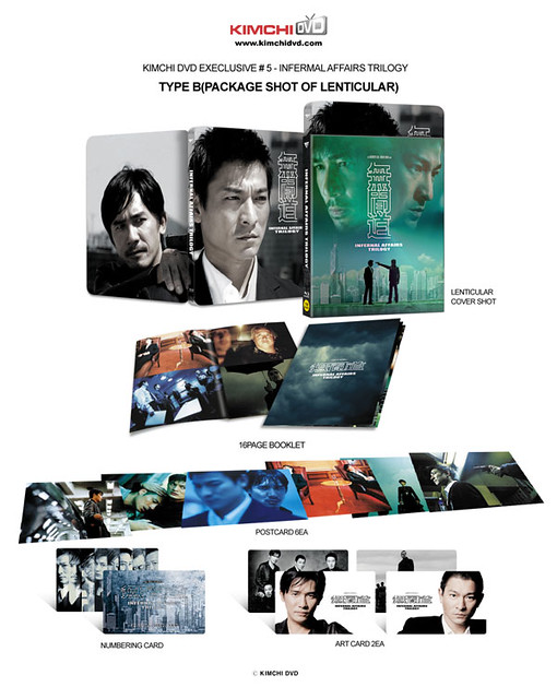 Infernal Affairs - Trilogy - Collective Items