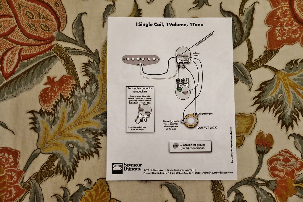 cigar box guitar wiring diagram this is the wiring diagra flickr rh flickr com cigar box guitar pickup wiring diagram