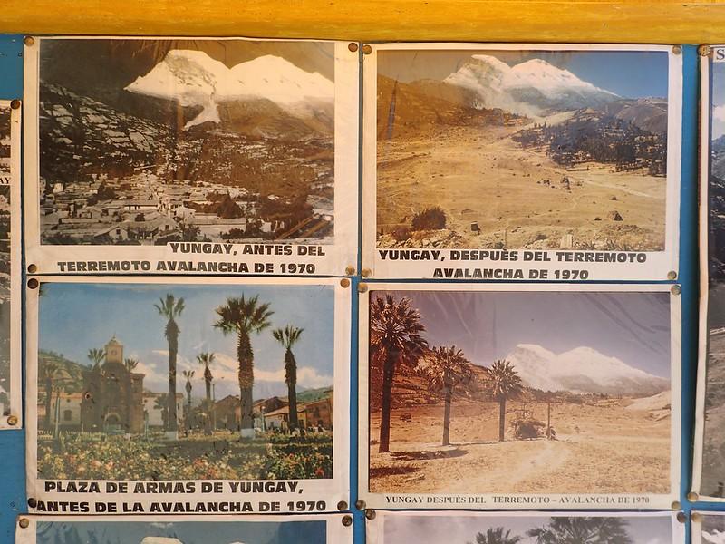 Fotos del antes y del después del desastre natural más grande registrado en Sudamérica.