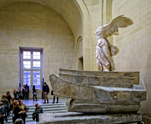 Winged Victory (Nike) of Samothrace | by Tigra K