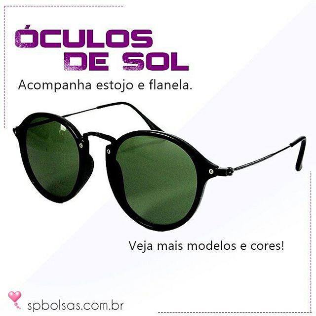 ... Óculos de Sol Unissex com estojo e flanela. Mais modelos! http    71e0f50d3a