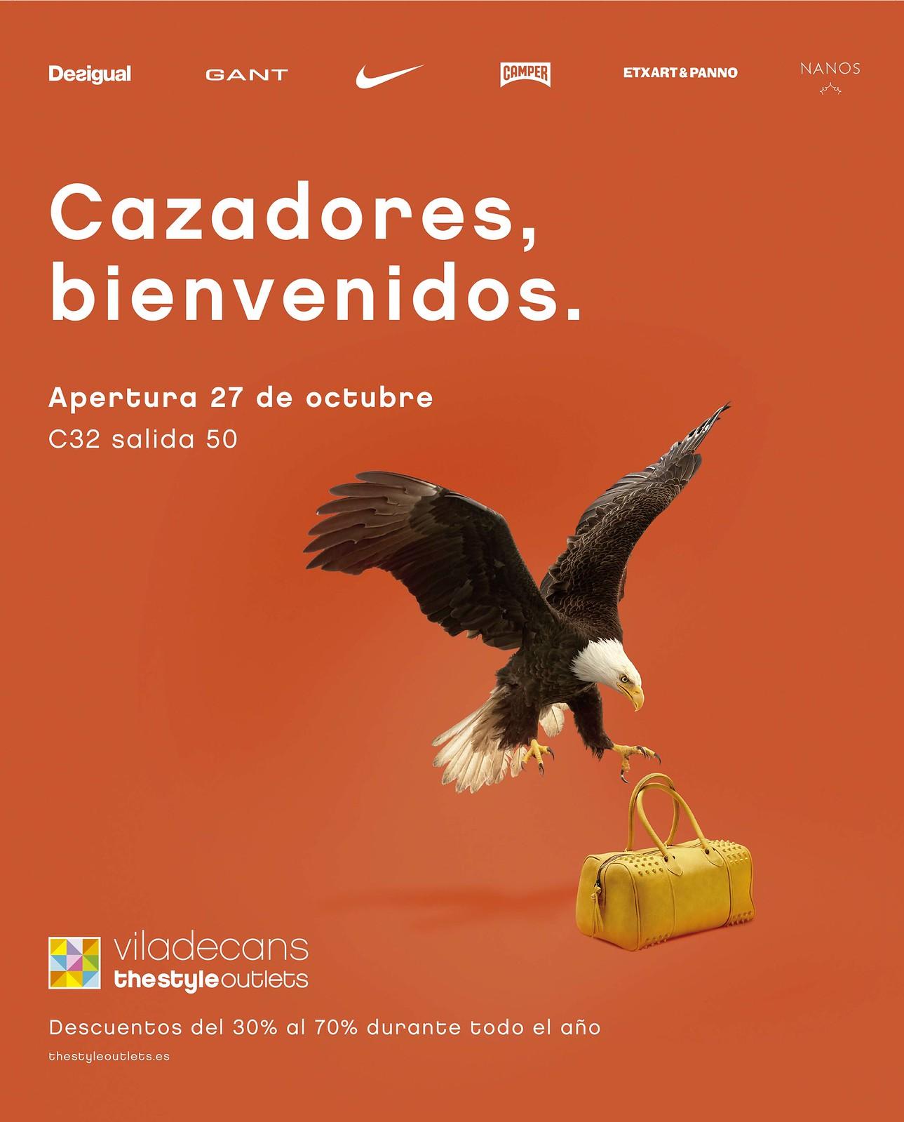 VILADECANS THE STYLE OUTLETS - Cazadores Bienvenidos