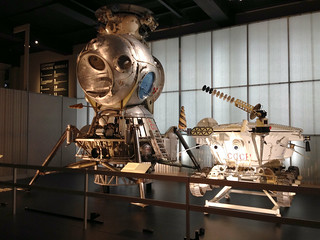 LK-3 lunar lander and Lunokhod rover | by smallritual
