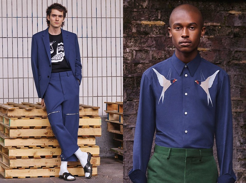 Stella McCartney First Men Collection Lookbook