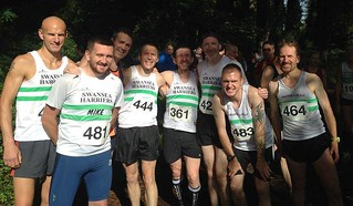 Swansea harriers at Llanmadoc XC | by Thomas Guest