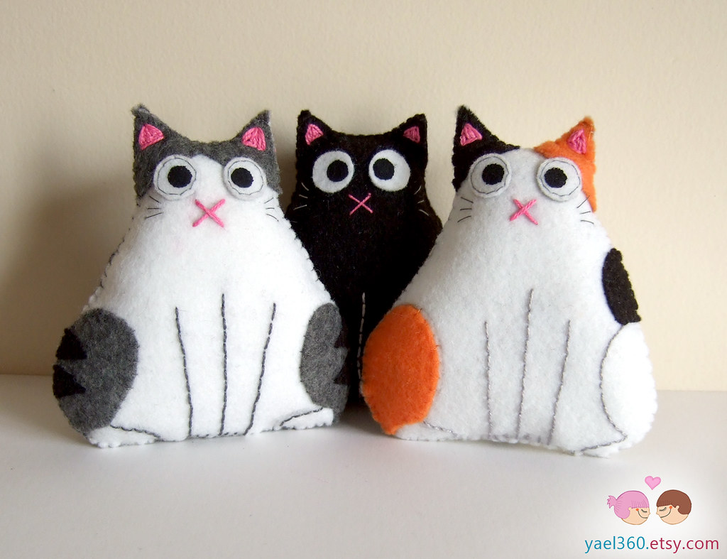 All Cat Plushies Unite The Cutest Fat Cats Including New Flickr
