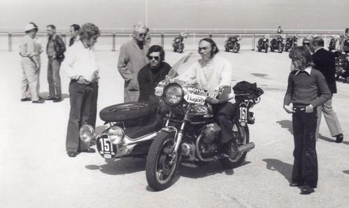 1974 mai tour de france moto arriv e au touquet charles flickr. Black Bedroom Furniture Sets. Home Design Ideas
